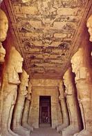 Abu - Simbel - Osiris Columns In The Temple - Formato Grande Viaggiata – E 7 - Abu Simbel