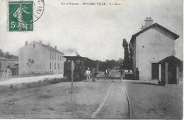 Boyardville - La Gare  Bien Animé Top Carte  Plan Inédit !  Ile D' Oléron - Ile D'Oléron