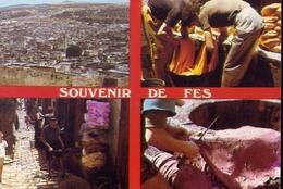 Souvenir De Fes - Marocco - Formato Grande Viaggiata – E 7 - Fez