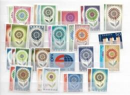 1964 MNH Cept Complete Postfris** - Europa-CEPT