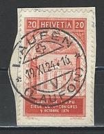 SBK 167 Stempel Laufen - Marcophilie