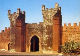 Rabat - Bad Chellah XIV Siecle Porte Des Jardins De Chellah - Formato Grande Non Viaggiata – E 7 - Rabat