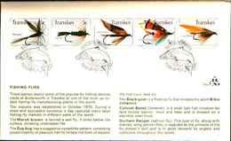 72496)  TRANSKEI, Butterworth Pesca Mosche FRANCOBOLLI STRISCIA Ref 1655-FDC - Transkei