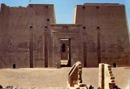 Edfu Temple Of God Horus - Formato Grande Viaggiata – E 7 - Cartoline