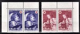 FRANCE 1971 -  SERIE 2 PAIRES / Y.T. N° 1700 ET 1701 - 2 TP NEUFS** - France