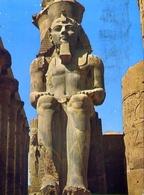 Luxor Temple - Statue Of Ramses II - Formato Grande Viaggiata – E 7 - Cartoline
