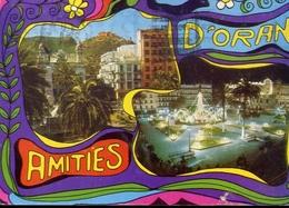 Souvenir D'oran Amities - Formato Grande Viaggiata – E 7 - Cartoline