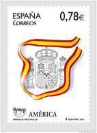 ESPAÑA 2010 - AMERICA UPAEP - SIMBOLOS NACIONALES - EDIFIL Nº 4601 - 1931-Oggi: 2. Rep. - ... Juan Carlos I