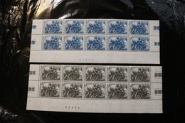 Vatican City 393-94 Red Cross Centenary Blocks Of 10 Minor Staining MNH WYSIWYG 1964 A04s - Unused Stamps