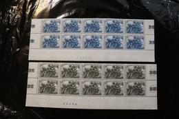 Vatican City 393-94 Red Cross Centenary Blocks Of 10 Minor Staining MNH WYSIWYG 1964 A04s - Nuovi