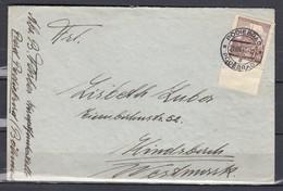 Brief Von Podiebrad Podebrad (136) (21 VIII 41) - Bohême & Moravie