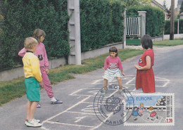 Carte  Maximum  1er  Jour    FRANCE     EUROPA    1989 - Europa-CEPT