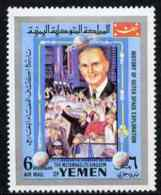 Yemen - Royalist 1969 Mercury 6 From History Of Outer Space Set, U/m Mi 868*  SPACE ROCKETS - Yemen