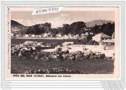 3914 AK/PC/CARTE PHOTO/645/VINADEL MARE/BALNEARIO LOS LINENES/RESTAURANT/1953/ - Cile