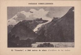 LAGUNITA LOS CANTAROS, CERCA DEL CERRO LOS 3 HERMANOS. SOCIEDAD FORESTAL ARGENTINA 1924-CARD- BLEUP - Argentinië