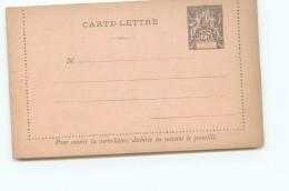 Entier  Carte-lettre 25 Cent. Groupe Neuve - Covers & Documents