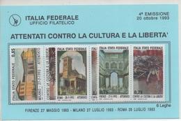 Lega Nord Italia Federale 4 Emissione 1993 - 1946-.. République