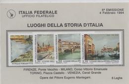 Lega Nord Italia Federale 5 Emissione 1994 - 1946-.. République