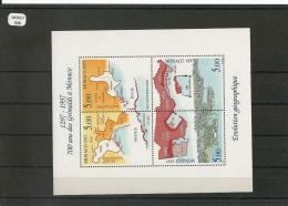 MONACO 1997 - YT BF N° 76 NEUF SANS CHARNIERE ** (MNH) GOMME D'ORIGINE LUXE - Blocs