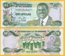 Bahamas 1 Dollar P-69 2001 UNC - Bahamas