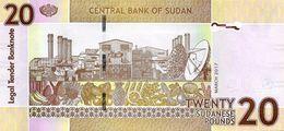 SUDAN P. 74d 20 P 2017 UNC - Sudan