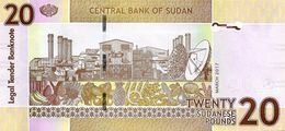 SUDAN P. 74d 20 P 2017 UNC - Soudan