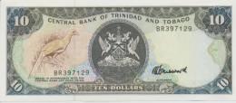 TRINIDAD & TOBAGO P. 38c 10 D 1990 UNC - Trinité & Tobago
