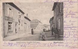 57 - MANOM - RESTAURANT STOUFFLET-BELLINGER - CARTE RARE - France