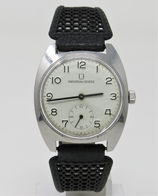 Orologio Universal Geneve Mechanical Watch Caliber UG 64 Assegnato FF.SS Clock - Watches: Bracket