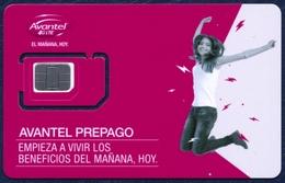 COLOMBIA AVANTEL 4G LTE GSM (SIM) CARD MINT UNUSED - Colombia