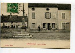 Manchecourt Place Et Calvaire - France