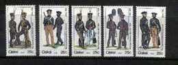 CISKEI, 1984, MNH Stamp(s), Military Uniforms,  Nr(s). 65-69 - Ciskei
