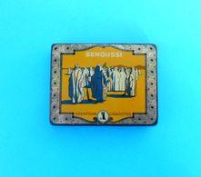 SENOUSSI - 10. CIGARETTES No. 16 By Reemtsma - Beautifull Vintage Tin Box * Zigaretten Sigarette Cigarrillos Cigarros - Boites à Tabac Vides