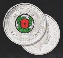 New Zealand - ARMISTICE - 2018 50c Coloured Coin - Mint, Uncirculated - New Zealand