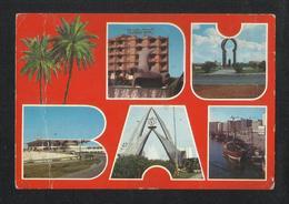 United Arab Emirates Dubai 5 Scene Picture Postcard U A E View Card - Dubai