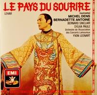 Franz LEHAR. Le Pays Du Sourire. 1 Cd. EMI. 1987. ( Extraits ). - Opera