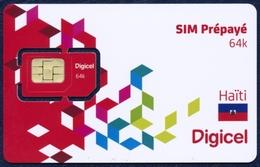 - SALE - HAITI DIGICEL GSM (SIM) CARD 4G MINT UNUSED - Haiti