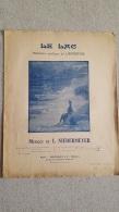 LE LAC MEDITATION POETIQUE DE LAMARTINE MUSIQUE DE L.  NIEDERMEYER - Partitions Musicales Anciennes