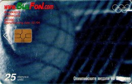 TARJETA TELEFONICA DE BULGARIA, OLYMPICS, TENNIS, FON-C-0267. (151) - Jeux Olympiques