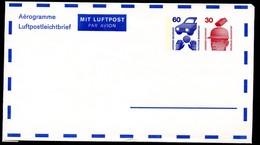 Bund PF4 A2/001 AEROGRAMM 1976  NGK 8,00€ - BRD