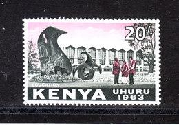 Kenya  -  1963. Istruzione. Education. High Values Of The Series. Rare.MNH - Professioni