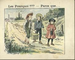 """1388 """" LES POURQUOI ??? ..... PARCE QUE ..... """" FIGURINA DIDATTICA FRANCESE  ORIGINALE - 0-6 Anni"""