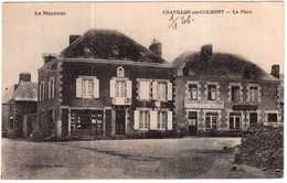 CPA MAYENNE.CHATILLON-sur-COLMONT.LA POSTE - Villaines La Juhel