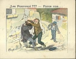 "1393 "" LES POURQUOI ??? ..... PARCE QUE ..... "" FIGURINA DIDATTICA FRANCESE  ORIGINALE - Libri, Riviste, Fumetti"
