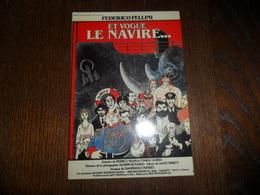 CP / ET VOGUE LE NAVIRE / FILM DE FEDERICO FELLINI / DESSIN DE TARDI - Ansichtskarten