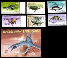 647  Prehistoric  Fauna Prehistorique - 2013 - MNH - 3,50 - Timbres