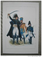 Maréchal Soult Avec Son Capitaine Et Adjudant-commandant Aide De Camp  & - Documents