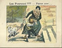 "1396 "" LES POURQUOI ??? ..... PARCE QUE ..... "" FIGURINA DIDATTICA FRANCESE  ORIGINALE - Libri, Riviste, Fumetti"