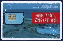 CAPE VERDE CABO VERDE GSM (SIM) CARD CVMovel MINT UNUSED - Cape Verde