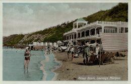 Mozambique, LOURENÇO MARQUES, Polona Beach, Bathing Suit (1930s) Postcard - Mozambique